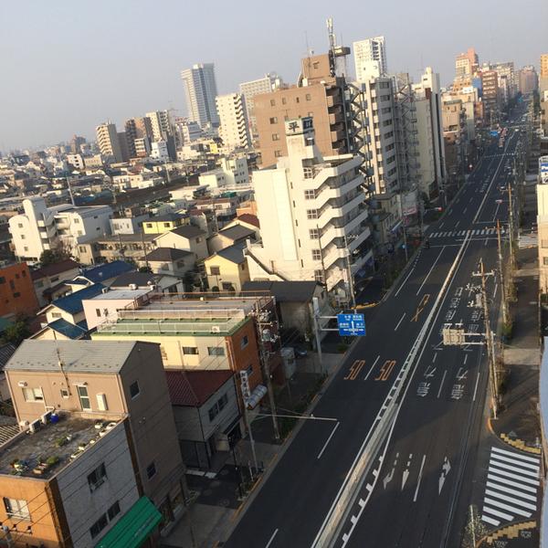蔵前橋通り 2015.3.22 AM7